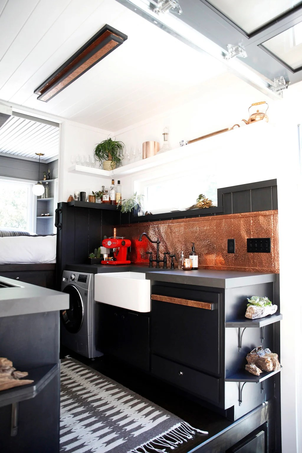 hight resolution of  fully customized top of the line tiny house if you were to put our house on the scale of a 2 000 square foot house it would go for a million dollars