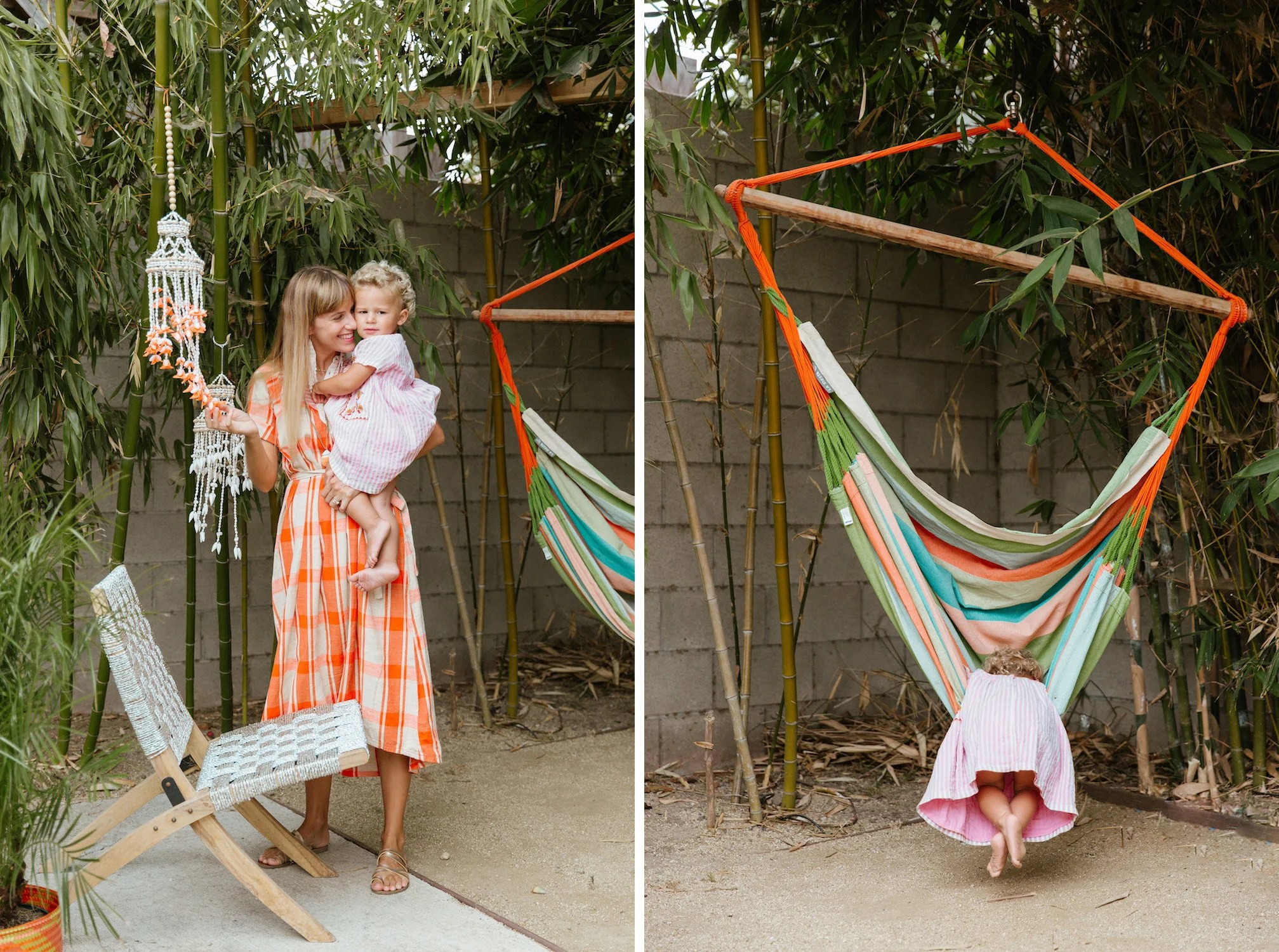 hanging chair urban outfitters timber ridge zero gravity a colorful home in venice beach  health ins get quotes