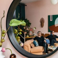 Paint Living Room Online Table Sets Cheap These Two Sisters Live Together In A Color Explosion   ...