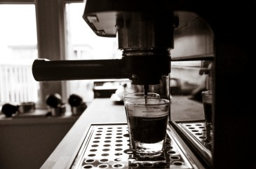 Photo By: cahadikin (Espresso Shots Pouring)