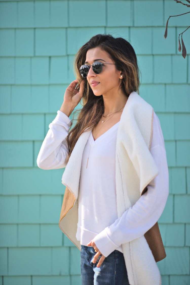 cuppajyo-sanfrancisco-fashion-lifestyle-blogger-flowers-brunch-santacruz-shearling-vest-feelthepiece-sweater-13