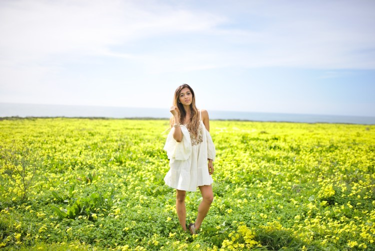 cuppajyo_sanfrancisco_fashion_lifestyle_blogger-santacruz-wildflower-fields-bohochic-bohemian-offtheshoulder-dress-3