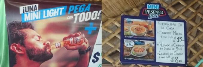 Pilsener Light Ecuador beer guide | Beer food pairings cerveza SABMiller campaign marketing beer