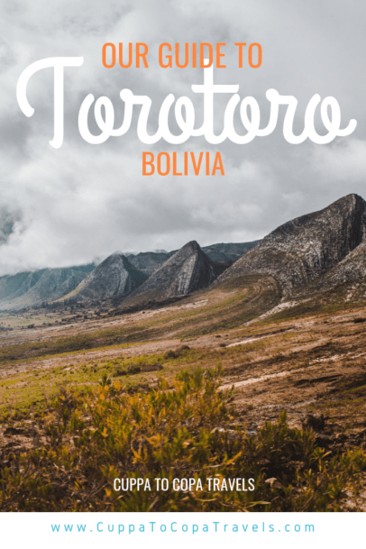 How to get to Torotoro Bolivia from Cochabamba | South America travel guides by Cuppa to Copa Travels