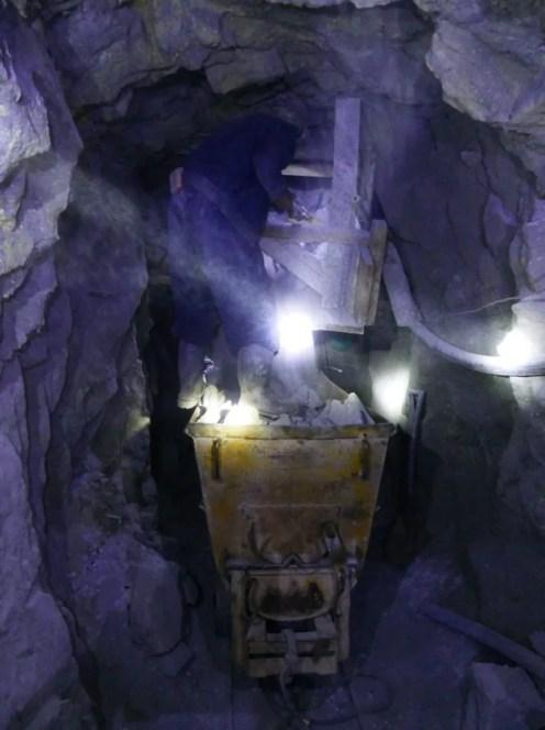 The Nomadic Vegan Potosi mine tour cerro rico silver mines bolivia