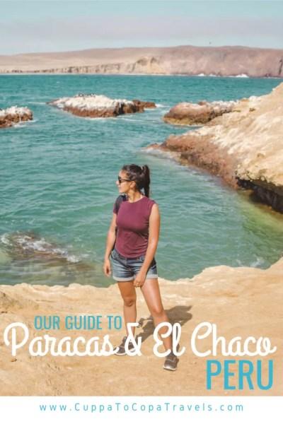 Paracas national reserve on bikes desert in Peru travel guide languilla
