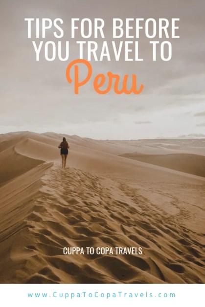 backpacking peru travel tips