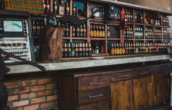 The Beer Guide: Colombia | Bar in Zipaquirá: Club Colombia, Aguila, Cerveza Roja | Beer in Colombia by Cuppa to Copa Travels