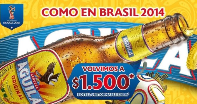 aguila light Guide beer in Colombia: Colombian beer brands marketing and positioning