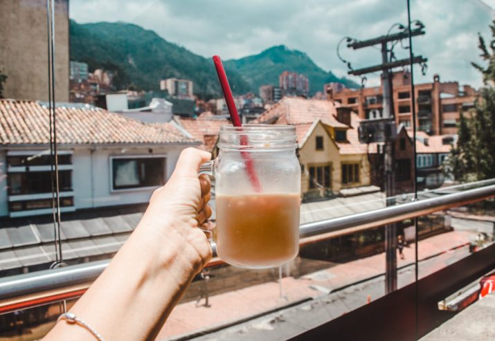 Chapinero Juan Valdez Origines Bogotá | Colombian coffee | A Guide to where to stay in Bogota, Colombia | is Bogota safe?