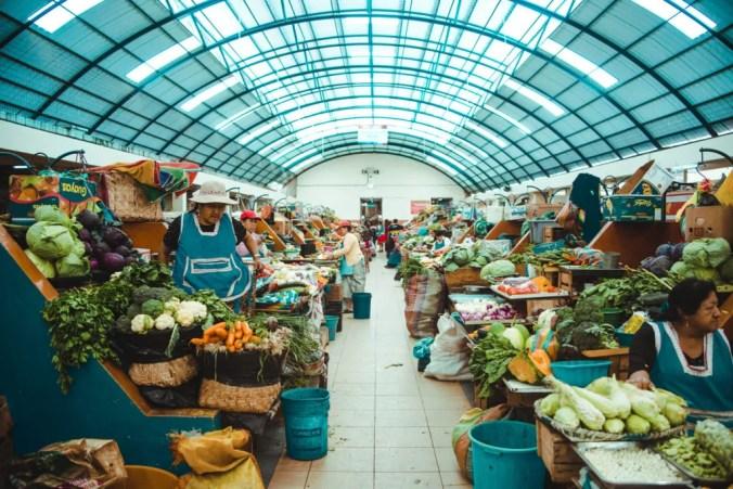 Bolivian market | Environmentally friendly initiatives in South America | Sustainability