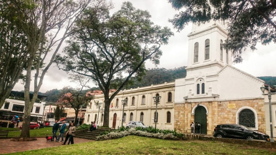 Church of Usaquen, Bogota | A Guide to where to stay in Bogota, Colombia | bogota neighbourhoods