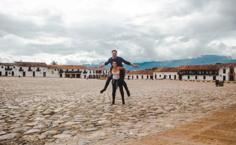 Plaza Major Villa de Leyva, Colombia   Bogotá breaks   traditional Colombian town pueblo   Travel guides by Cuppa to Copa Travels