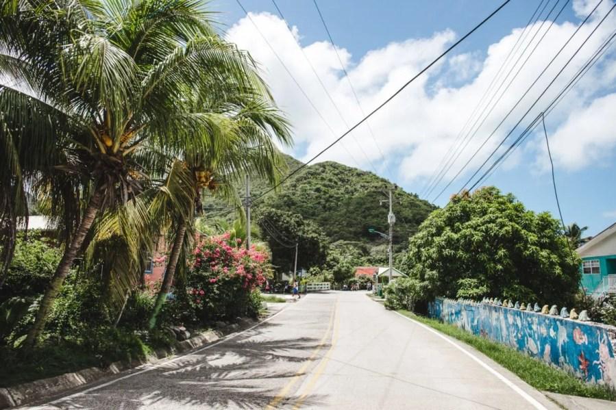 Landscape Isla de Providencia Colombia