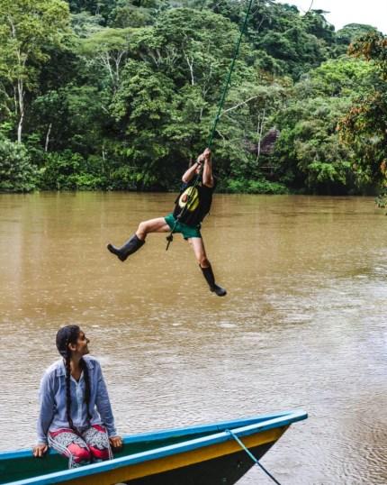 How to get to Puerto Misahuallí Ecuador Amazon Rio Napo