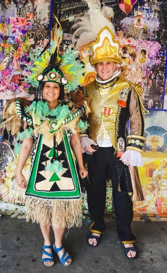 Sambadrome Rio de Janeiro outfits costume wearing tourism Brazil travel guide