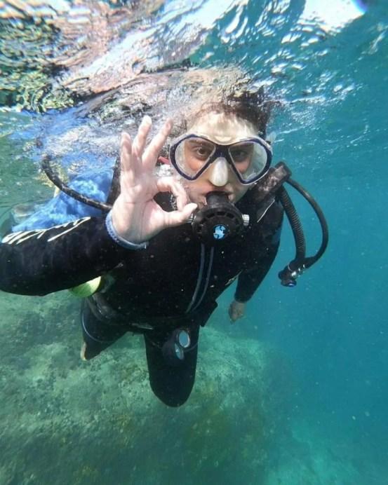 Scuba diving VivaAgua Brazil Ilha dos Porcos