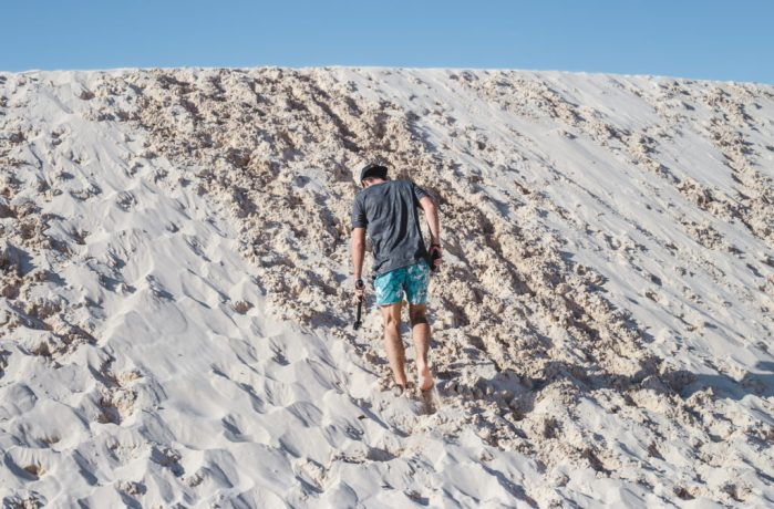 Difficulty Lencois Maranhenses sand dune tours Lagoa Bonita Azul