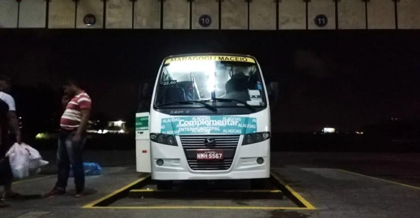 Van bus Maceio to Maragogi Brazil