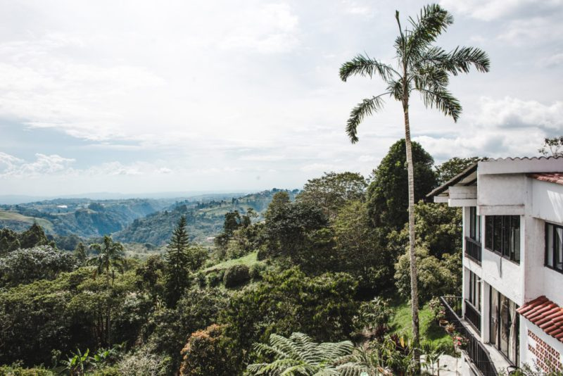 Casa Campestre La Montaña Filandia hotel best accommodation Colombia coffee region