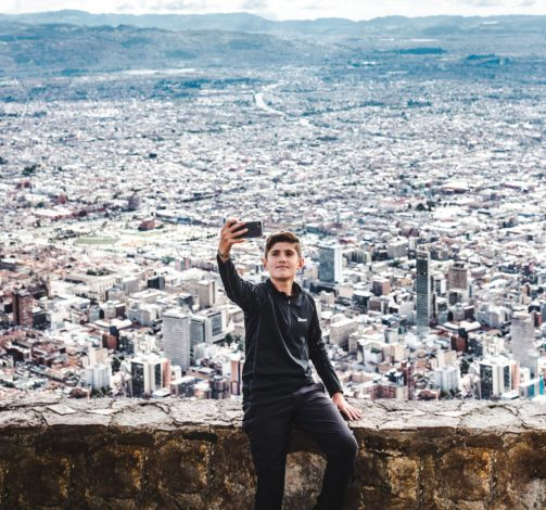 Travel Colombia with a teen trip bogota monserrate