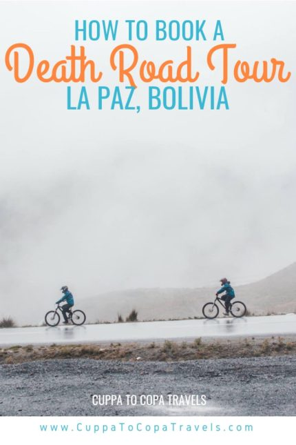 Yungas road cycling most dangerous road in the world bolivia