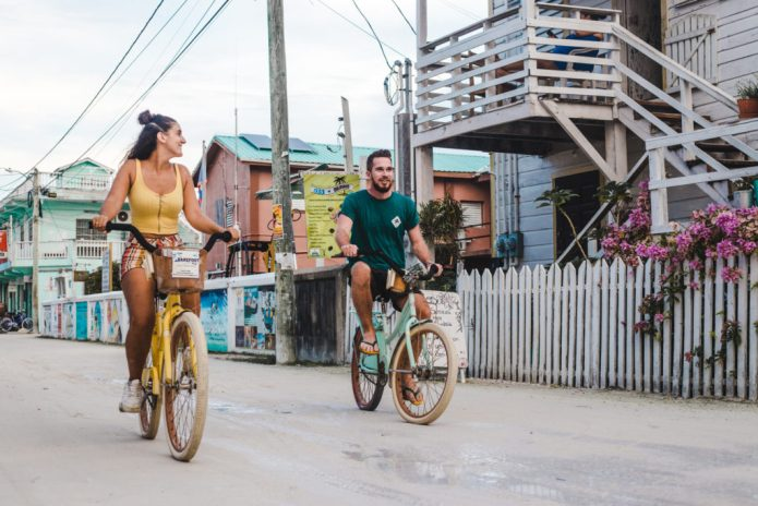 hiring bikes bicycles caye caulker belize things to do