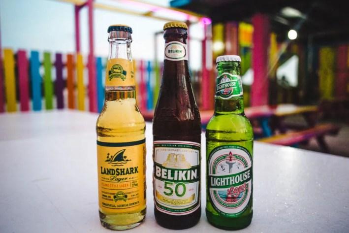 landshark beer belikin cerveza caye caulker national beer belize