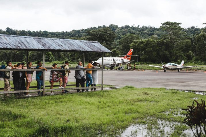 Choco airport el valle bahia solano cost of transport colombia