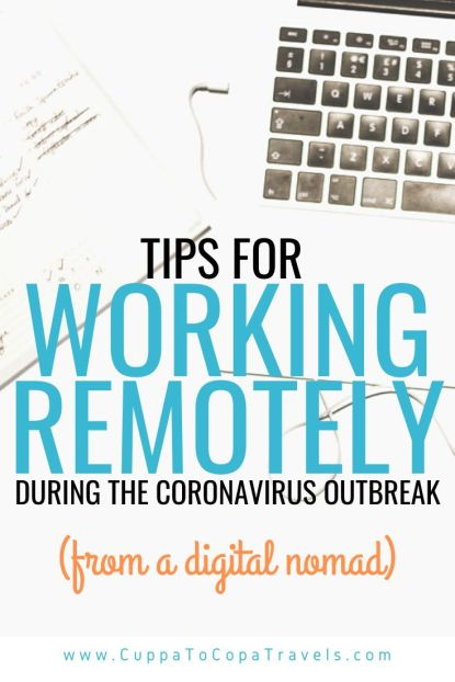 tips for working remotely during covid-19