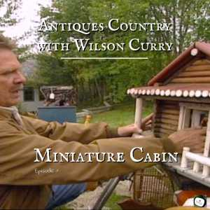 miniature log cabin
