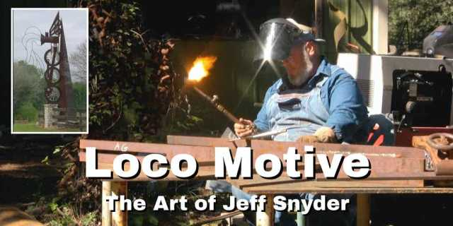 artist jeff snyder at work