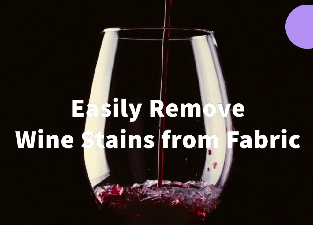 How to Remove Red Wine Stains 1