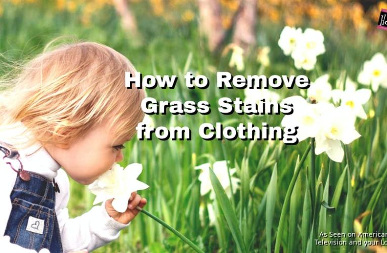 How to Remove Grass Stains for Clothing