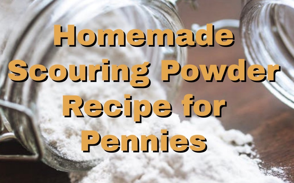 Homemade Scouring Powder Recipe for Pennies 1