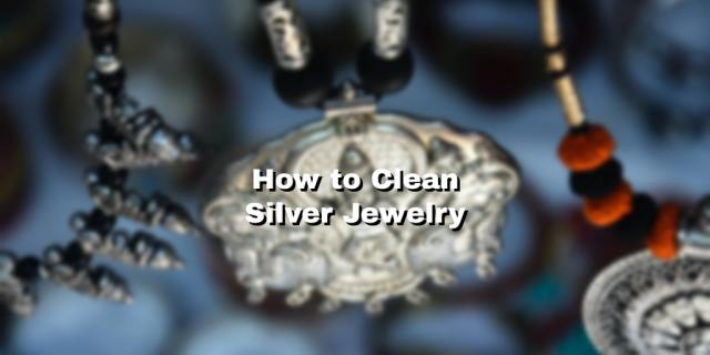 silver jewelry feature