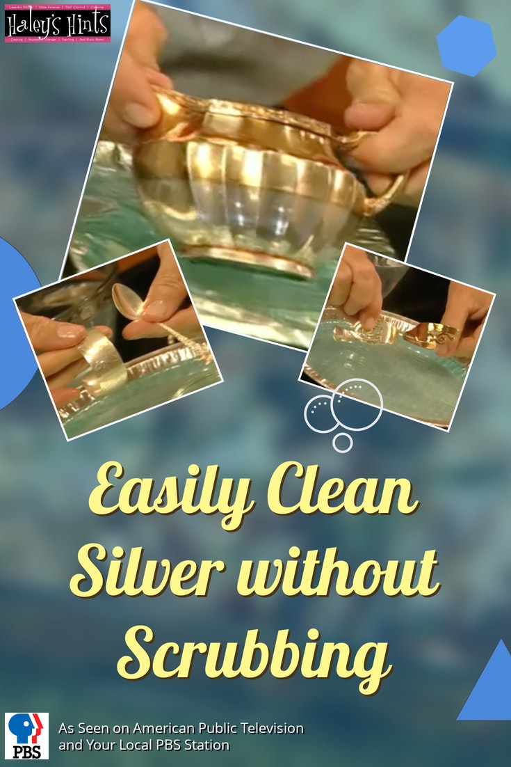 silver cleaning splash