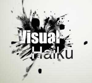 visual haiku splash card