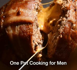 One Pot Cooking for Men splash card