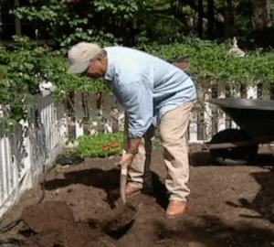 loren digging