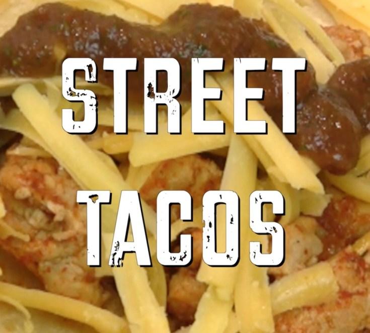 Rosarito Beach Street Tacos – Healthy Version