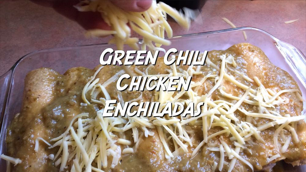Green Chili Chicken Enchiladas 1