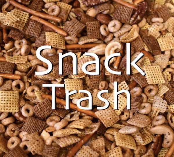 Snack Trash Party Mix