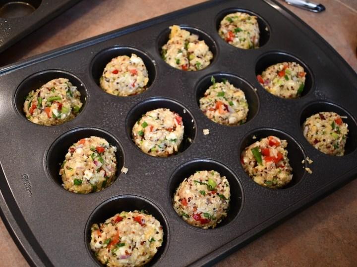 Savory Quinoa Muffins 7