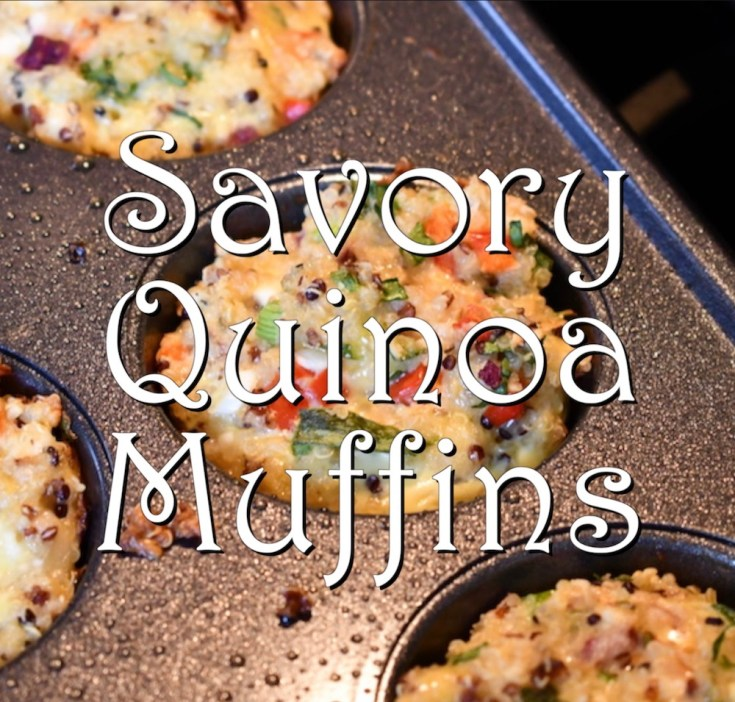 Savory Quinoa Muffins