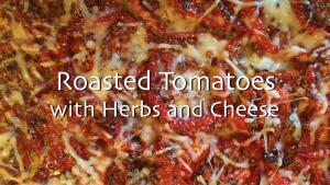 Roasted Tomatoes with Herbs and Cheese 2