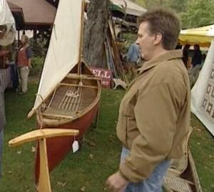 canoe splash landing