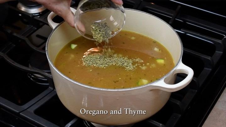Caldo de Pollo con Lime or Mexican Chicken Soup 4