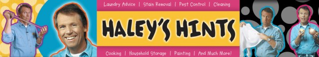 Haley's Hints Banner