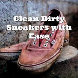 dirty pink sneakers